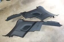 Porsche 991 Carrera 911 Turbo GT2 Rear Interior Black Full Leather Panels OEM