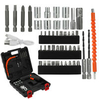 45-in-1 Rechargeable Wireless Electric Screwdriver Drill Set Cordless Power Tool