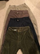 Bill's Khakis Chinos Pants Size 34x30.5 Lot of 4