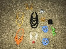 MONSTER HIGH DOLL EVER AFTER HIGH NECKLACE BRACELET EARRINGS LOT REPLACEMENT