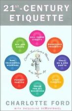 21st-Century Etiquette by Charlotte Ford (2001, Hardcover)