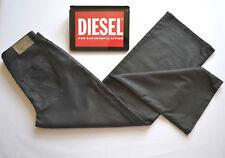 Brand New DIESEL Palazzo Dark Navy Blue Straight leg Jeans Wide leg W30 L30