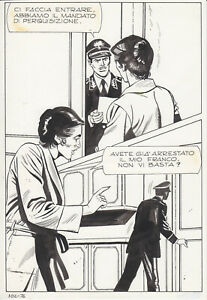 tavola originale da STORIE NERE GIGANTE n. 102 pag. 76