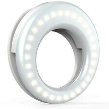 QIAYA Selfie Light Ring Lights LED Circle Light Cell Phone Laptop Camera ... New