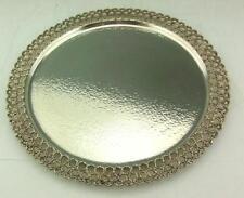 Stuart Devlin Solid Silver salver, Chargeur 1980 12 in (environ 30.48 cm) Dia