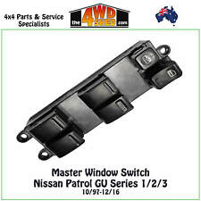 Window Electric Power Master Switch Control fit Nissan Patrol GU Series 1/2/3