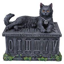 Fortune's Watcher Stunning Black Cat Tarot Box by Nemeis Now ~ New Design