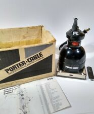 Porter Cable 330 Speed Bloc 1/4 Sheet Finishing Sander Original Box