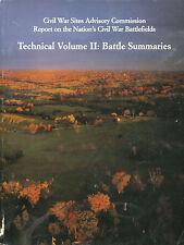 Civil War Sites Advisory Commission Report to Nation's Civil War Sites - Vol 2
