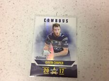 2017 NRL TRADERS PEARL SERIES,GAVIN COOPER ,COWBOYS  # PS083