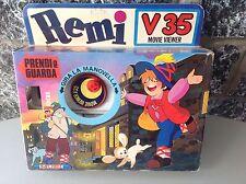 Vintage Rare Mupi Projector Made In Italy Naki Ko Remi' 70S Nib#MOVIE VIEWER