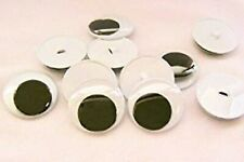 Sassy Bears 35mm Wiggle Eyes with Sew On Backs (10pairs)