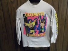 Wrestlemania VI shirt 1990 hulk Hogan vs Ultimate Warrior Skydome WWF small