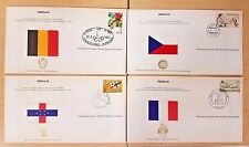 New ESPANA 82 First Day of Issue Covers of World Soccer Championship Set of 4