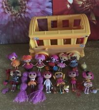 Mini LALALOOPSY Dolls Lot/ Figures / Accessories + School Bus Ready To Ship!!