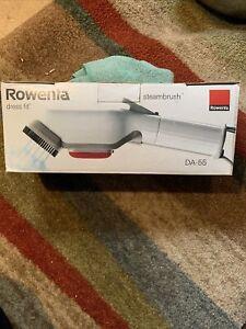 Rowenta Dress Fit Handheld Steam Brush Garment Steamer DA-55 EXCELLENT CONDITION