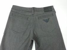 Giorgio Armani Jeans robe femme pantalon évasé W28 L33 uk 8 Neuf RRP £ 130