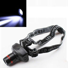 3W 500 Lumens LED 3-Mode Zoomable Headlamp Headlight Head Torch Light Lamp ABS