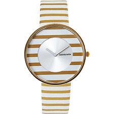 Ladies LAMBRETTA 'Cielo' Gold Stripes Watch rrp £67 - New
