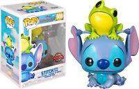 Disney Lilo & Stitch 986 Stitch with Frog Special Edition pop vinyl figure Funko