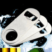 Bar Supplies Beer Bottles Opener Cap Blade Remover Stainless Steel Bartender