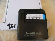 Nikon MH-53 Cargador para Enel 1 Batería Coolpix 775 885 995 4300 4500 4800 (25196)