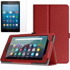 Funda Encaja Amazon todos los nuevos Fire 7 Tablet 9th generación 2019 + Pantalla de Vidrio