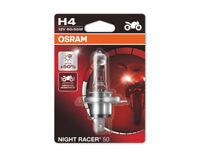 OSRAM H4 MOTO NIGHT RACER 50 12V,64193NR5-01B 60/55W, P43T,1 PIECE