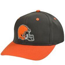 NFL CLEVELAND BROWNS OLD SCHOOL SNAP BACK HAT CAP NEW