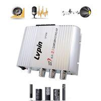 New Lvpin Mini Hi-Fi Stereo Amplifier Amp Radio MP3 200W 12V