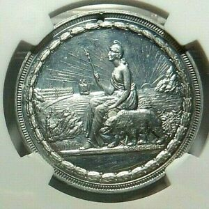 1894 - CALIFORNIA MIDWINTER EXPO - STATE SEAL - HK - 249 - NGC MS - 63DPL - NR
