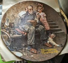 Norman Rockwell The Cobbler Collector Plate. Permanently closed in 1978