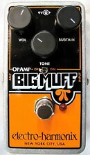 Used Electro-Harmonix EHX Op-Amp Big Muff Pi Distortion/Sustainer Pedal OpAmp