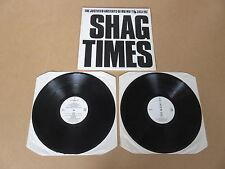 THE JUSTIFIED ANCIENTS OF MU MU Shag Times 2x LP RARE JAMSDLP3 UK PRESSING KLF
