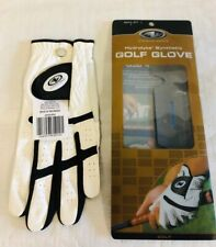 Athletic Works Hydrolyte Synthetic Golf Glove Mens Left L White Black New