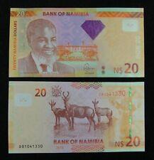Namibia Banknote 20 Namibia Dollar 2013 UNC