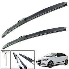 """Para Hyundai Santa Fe 2012-2016 Delantero Parabrisas 26/"""" 14/"""" Planas Aero Wiper Blades"""