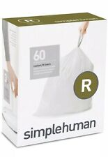 Simplehuman Code R Bin liners, CW0253 (Box of 60) FREE NEXT DAY DELIVERY