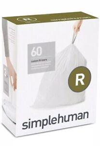 Simplehuman Code R Bin liners, CW0253 (Box of 60)