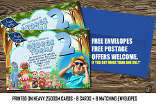Personalized Birthday Party Invitations In the night garden x  8Invites Set  A6