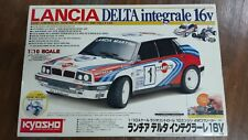 Kyosho 1/10 LANCIA DELTA Integrale 16V Rally 4WD 10 Engine Powered #3044