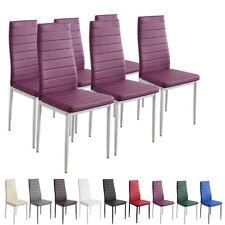 6 x Esszimmerstühle MILANO - violett / lila - Esszimmerstuhl Stuhl Stühle
