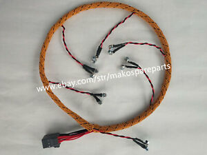 FIT Caterpillar CAT 320D 323D C6.4 Engine Injection Wiring Harness 305-4893