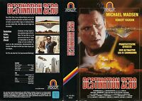 (VHS) Destination Zero - Michael Madsen, Dyan Cannon, Robert Vaughn,R. Lee Ermey
