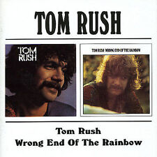 Tom Rush/Wrong End Of The Rainbow [Remaster] by Tom Rush (CD, Jan-1999, Beat Goes On)