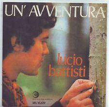 """LUCIO BATTISTI Un'avventura/Non è Francesca (1969) Vinyl 7"""" 45 RPM Ristampa 2013"""