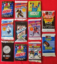 Huge Clearance Sale old HOCKEY Cards Unopened PACKS Rookies Bowman Upper Deck +