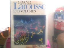 Grand Larousse en 5 volumes-- Volume 3 Fougeres / Marbrure