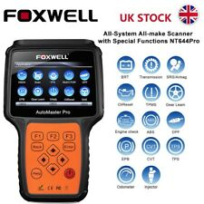 ALL SYSTEM DIAGNOSTIC TOOL OBD2 SCANNER EPB TPS DPF TPMS CODE READER FOXWELL UK