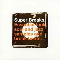 SUPER BREAKS VOLUME 1 New & Sealed Jazz Funk Soul Break Beats 2X LP Vinyl (BGP)